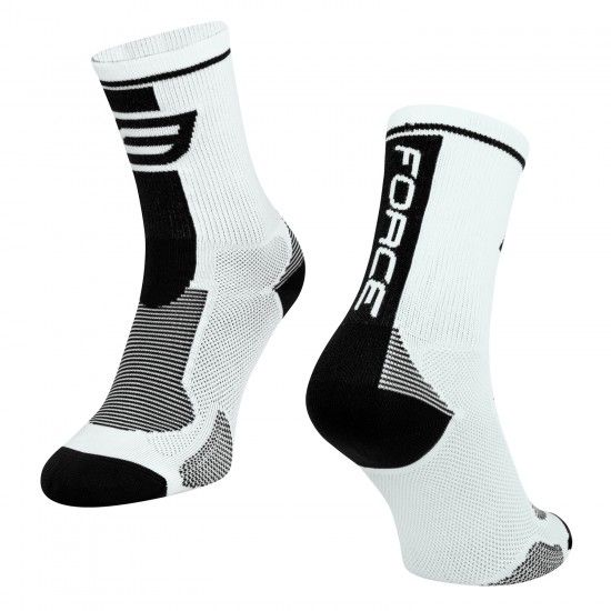 Calcetines Long (Blanco/Negro, 900985-95)