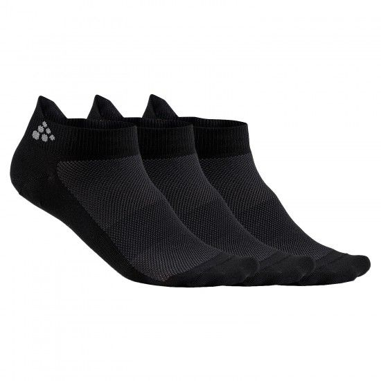 Calcetines Zapatillas Greatness Shaftless (Negro, Tres Unidades) - (1906059-999000)