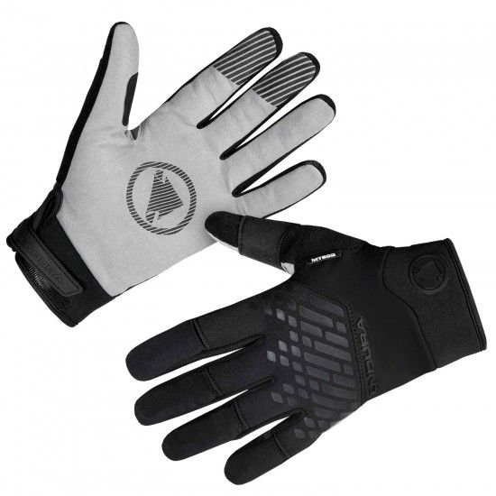 Guantes Ciclismo Largo Impermeable Mt500 (Negro, E1181Bk)