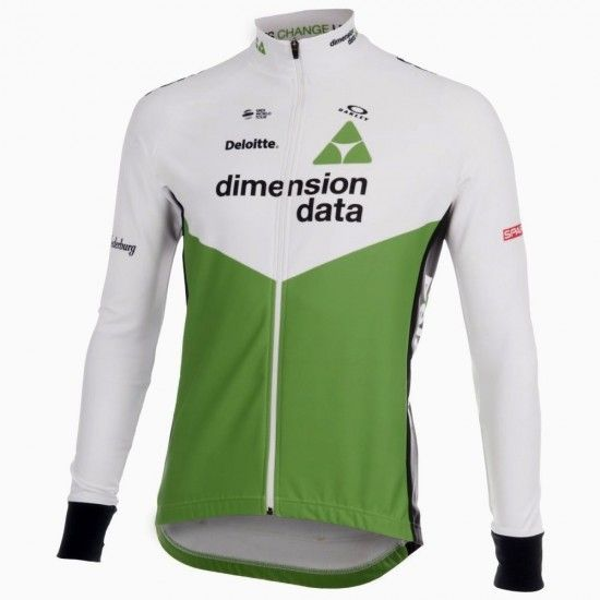 2018 Maillot Ciclista Manga Larga Team Dimension Data