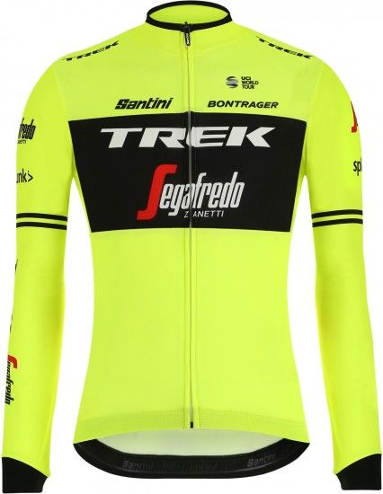 2019 Maillot Ciclista Manga Larga Trek - Segafredo Training Edition