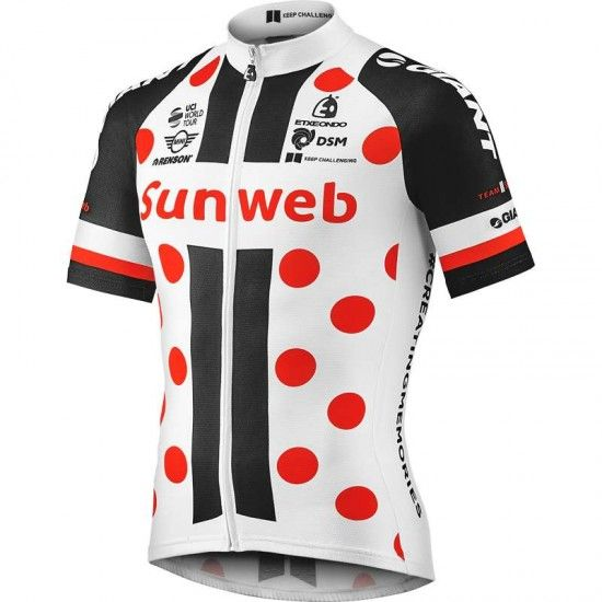 2017 Maillot De Mejor Escalador Tour De France - Team Sunweb De