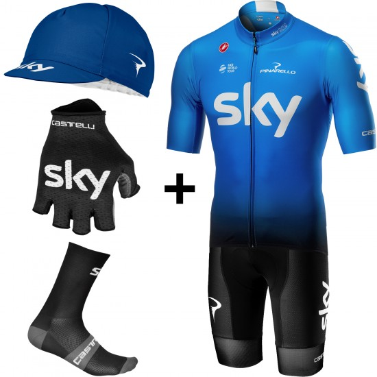 2019 Super Set De Ciclismo Del Equipo Squadra Training Edition Team Sky